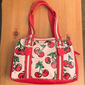 Isabella Fiore cherry handbag (lightly used)